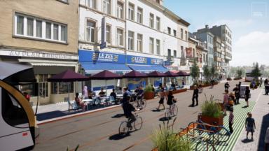 Anderlecht : les propositions pour le réaménagement de la rue Wayez ont été présentés aux riverains