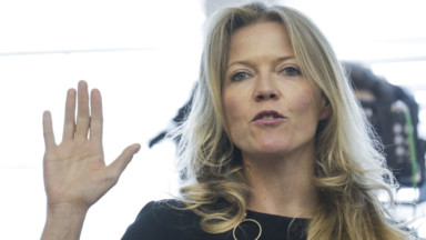 Présidence du MR: Clémentine Barzin appelle à soutenir Georges-Louis Bouchez