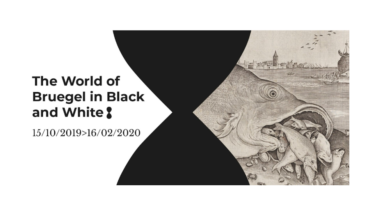 "L'exposition ""The World of Bruegel in Black and White"" prend ses quartiers à Bruxelles"