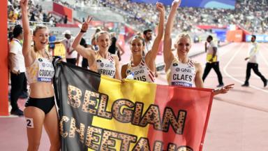 Les Belgian Cheetahs finalement en 5ème position du 4×400 m