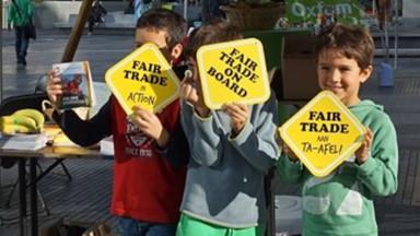 A la découverte d'agriculteurs locaux à Anderlecht pour la semaine du commerce équitable