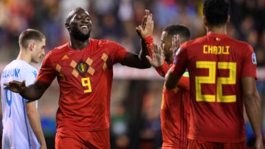 Les Diables Rouges proches de leur record historique contre Saint-Marin (9-0)