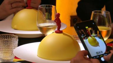Un dîner surréaliste aux couleurs de la Belgique orchestré par Charles Kaisin