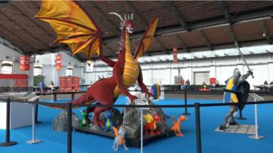 L'expo Bricklive est de retour à Tour & Taxis avec 5 millions de briques Lego