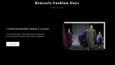 """We are fashion"" : le mois de la mode à Bruxelles en octobre"