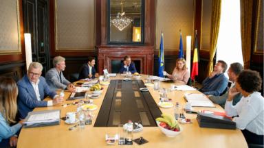 Le gouvernement bruxellois se tient de manière virtuelle pour la première fois