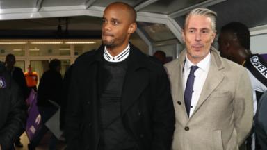 Vincent Kompany convoqué devant la Commission des Licences pour avoir coaché Anderlecht sans licence pro