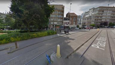 Rénovation de la place Marie-José: interruption des trams 8 et 25 entre Buyl et Boondael jusqu'à fin décembre