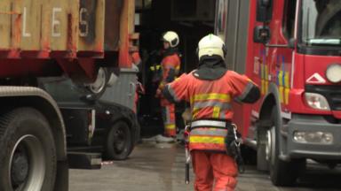 Des habitants évacués suite à un incendie dans un immeuble à Molenbeek
