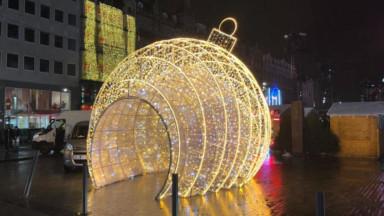 Coup d'envoi de Brussels By Lights: 131 rues commerçantes illuminées jusqu'au 5 janvier