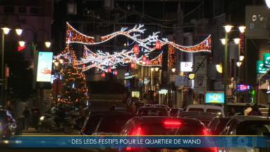 Laeken : des leds festifs pour le quartier De Wand