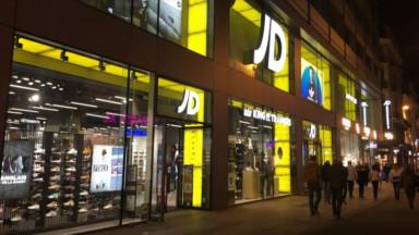 Nouvelle scène de pillage dans un magasin JD Sports de la rue Neuve
