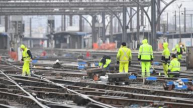 Les travaux de signalisation à Bruxelles-Midi prennent de l'avance