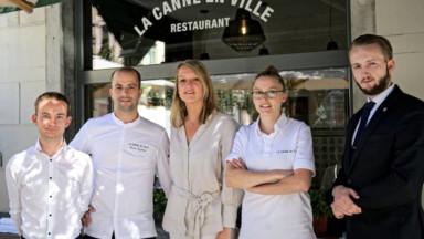 Une première étoile Michelin pour le restaurant ixellois La Canne en ville