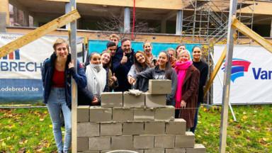 Schaerbeek : la construction du campus multifonctionnel de l'école Gallait a officiellement démarré