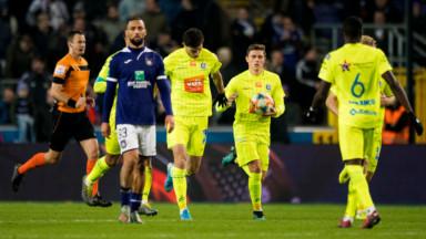 Anderlecht remonté dans les arrêts de jeu par Gand et contraint au partage