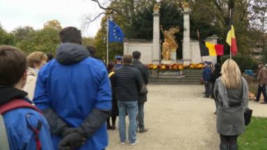 Forest : une cérémonie d'hommage aux soldats morts lors de la Première Guerre Mondiale pour l'Armistice