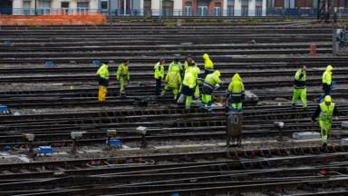 Travaux de signalisation à Bruxelles-Midi : un second week-end de travaux va débuter