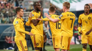 Les Diables Rouges décrochent la première place de leur groupe après leur victoire face à la Russie