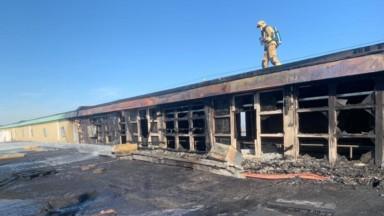 L'incendie qui a touché le Palais 5 du Heysel est maîtrisé