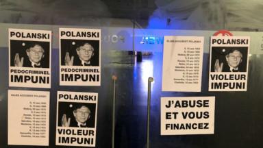 Les façades des cinémas bruxellois placardées pour protester contre le nouveau film de Polanski