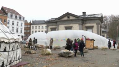 La Porte d'Anderlecht réaménagée en parc urbain