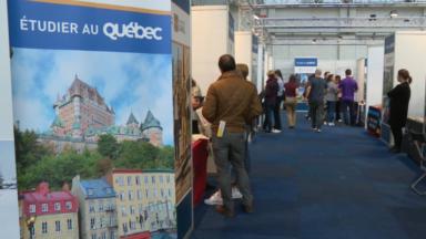 Le Québec fait les yeux doux aux jeunes lors du salon SIEP à Tour et Taxi