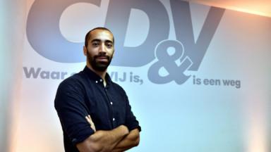 Présidence du CD&V : le Bruxellois Sammy Mahdi affronte Joachim Coens pour un second tour