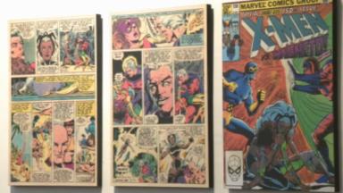 Les supers-héros à l'honneur dans une exposition au Musée Juif de Belgique