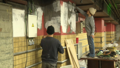 Les anciens locaux du Tri postal s'ouvrent temporairement à des activités artistiques et sociales
