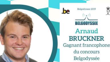 Notre journaliste, Arnaud Bruckner, remporte le concours Belgodyssée