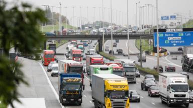 Accidents sur la E40 vers Bruxelles et sur le ring extérieur de Bruxelles : les voies sont dégagées