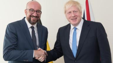 Charles Michel remplacera Boris Johnson à Bruxelles lors du sommet européen