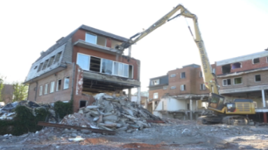 Le site Rodania de Wemmel démoli pour laisser place au nouveau projet Cubic
