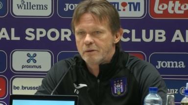 """Vercauteren à la veille du Clasico entre Anderlecht et le Standard : """"Il faut rester serein"""""""