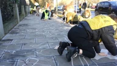 Action d'Amnesty pour demander la libération des manifestants en Iran
