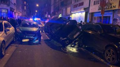 Schaerbeek : un accident rue Josaphat fait trois blessés