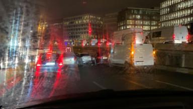Le tunnel Trône vers Basilique momentanément fermé suite à un accident