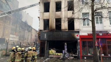 Incendie rue d'Aerschot à Schaerbeek : un expert est descendu sur les lieux