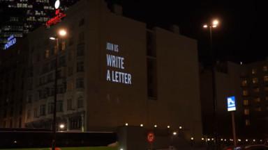 Amnesty International a lancé le Marathon des lettres à Bruxelles