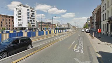 Deux blessés dans un accident de la route dans le centre de Bruxelles