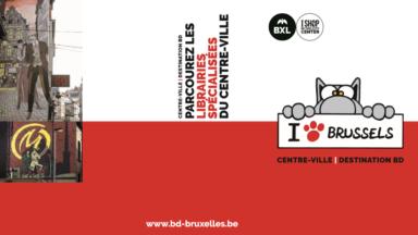 Bande dessinées : la Ville de Bruxelles lance un parcours mettant à l'honneur les librairies spécialisées