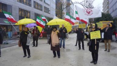 Mobilisation à Bruxelles pour demander la libération des manifestants en Iran
