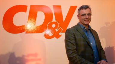 Joachim Coens est élu président du CD&V