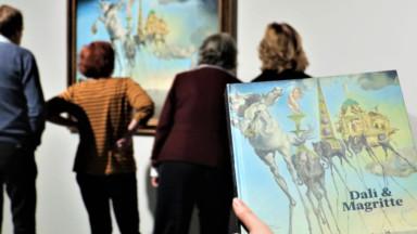 L'expo Dali et Magritte a attiré plus de 195.000 visiteurs