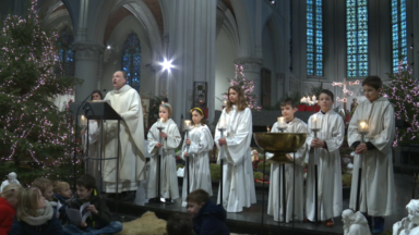 Jette : Une messe de la nativité consacrée aux enfants