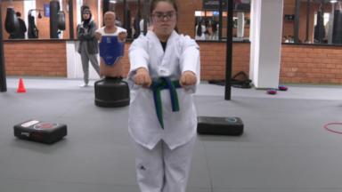 Hasna Ben Ayad est championne d'Europe de Para-Taekwondo