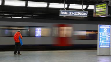 La circulation des trains est perturbée entre Ottignies et Bruxelles ce mardi matin