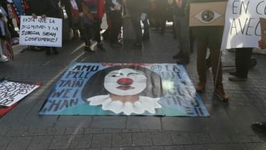 Manifestation contre le néolibéralisme : deux cents manifestants sud-américains rassemblés à Bruxelles