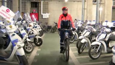 Hors cadre: David Stevens, un sportif à la tête de la brigade cycliste